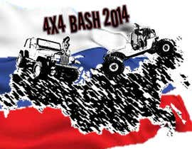 #2 for URGENT! Graphic Design for 4x4 Bash 2014 logo af Eclecticity