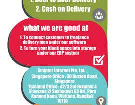 #12 untuk Design a Xstand Banner for Smipter : We bring Post Office to You oleh alimurtaza642