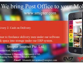 #7 for Design a Xstand Banner for Smipter : We bring Post Office to You by souravdey1983