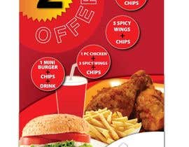 nº 18 pour Poster design for £2 offers in fast food restaurant par Manojm2