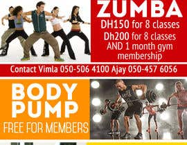 #5 for Zumba Abs Body Pump A5 Flyer af jk94