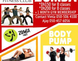 #7 for Zumba Abs Body Pump A5 Flyer af jk94