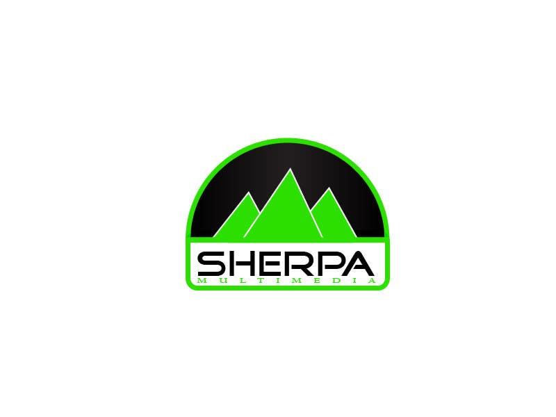 Kilpailutyö #320 kilpailussa Logo Design for Sherpa Multimedia, Inc.