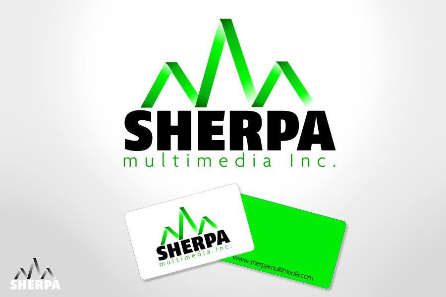 Inscrição nº 356 do Concurso para Logo Design for Sherpa Multimedia, Inc.