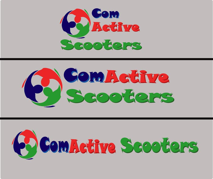 #13 for Logo Design for ComActive Scooters by shohagillusion