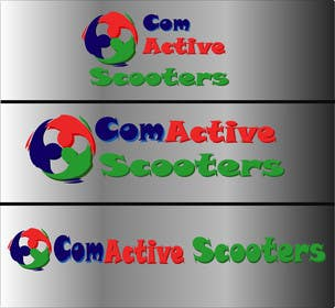 #14 for Logo Design for ComActive Scooters by shohagillusion