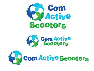 #10 for Logo Design for ComActive Scooters by thephzdesign
