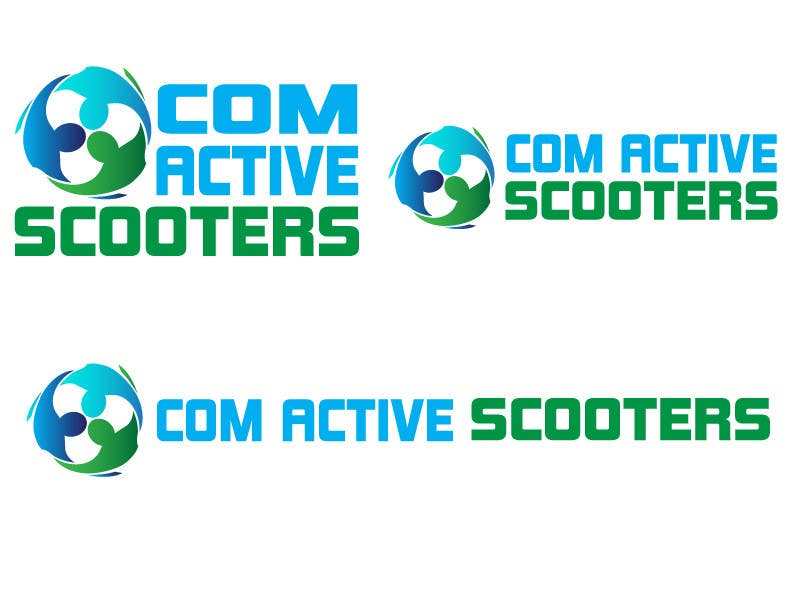 #11 for Logo Design for ComActive Scooters by thephzdesign