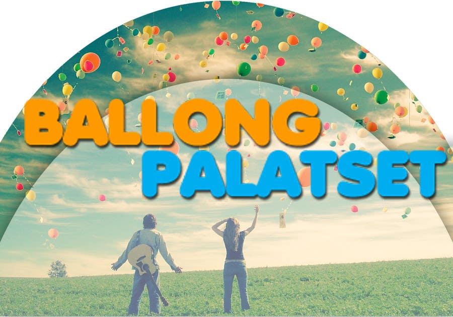 Konkurrenceindlæg #11 for Design a logo for Ballong palatset (Balloon palace)