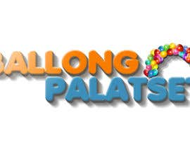 #8 for Design a logo for Ballong palatset (Balloon palace) af megacsaki