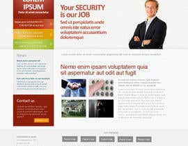 #1 untuk Website Design for Security Company oleh adamfabry