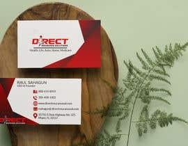 #290 untuk Direct Insurance Sol - Business Card Design oleh fatehsoft