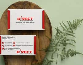 #292 untuk Direct Insurance Sol - Business Card Design oleh fatehsoft