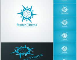 nº 18 pour Logo Design for Frozen Themes par rugun