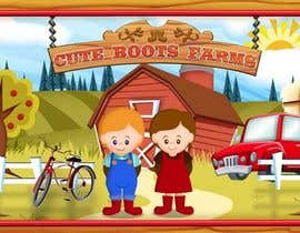 #2 para Illustration Design for Cute Boots Farms de richhwalsh