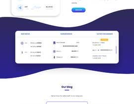 #32 for Ui designing for Static pages of a Crypto platform. by hackerskerala