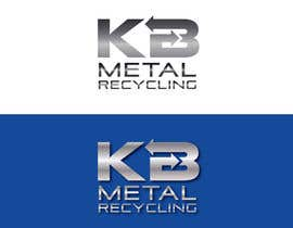 #60 para Design a Logo for K.B Metal Recycling por slcoelho