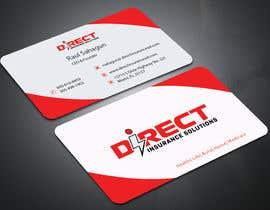 #118 untuk Direct Insurance Solutions - Business Card Design oleh allaboutacademy