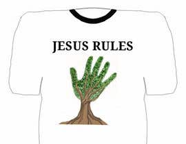 nº 29 pour Design a T-Shirt for Jesus Rules par Luis25fer