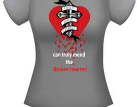 #16 for Design a T-Shirt for Broken Hearted af littlesecretdesi