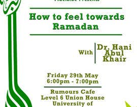 #16 for Flyer for 'Ramadan Lecture' af alimurtaza642