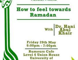 Nro 16 kilpailuun Flyer for 'Ramadan Lecture' käyttäjältä alimurtaza642