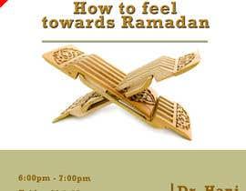 Nro 17 kilpailuun Flyer for 'Ramadan Lecture' käyttäjältä alimurtaza642
