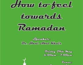 #11 for Flyer for 'Ramadan Lecture' af Vadimfreelance