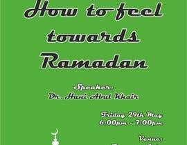Nro 11 kilpailuun Flyer for 'Ramadan Lecture' käyttäjältä Vadimfreelance
