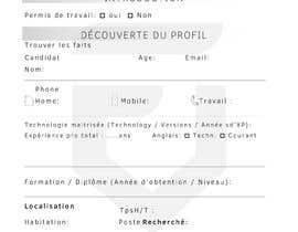 #7 untuk Créer une fiche sympa de renseignement interne oleh leonardogouveiac