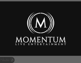 nº 73 pour Logo Design for Momentum Live Entertainment par Dewieq