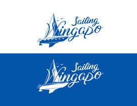#445 untuk Sailing Wingapo Logo - for a family about to sail around the world oleh mezikawsar1992