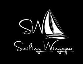 #281 untuk Sailing Wingapo Logo - for a family about to sail around the world oleh khinoorbagom545