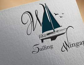 #230 untuk Sailing Wingapo Logo - for a family about to sail around the world oleh roksanaakter1