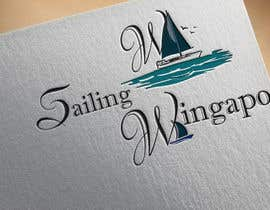 #277 untuk Sailing Wingapo Logo - for a family about to sail around the world oleh roksanaakter1