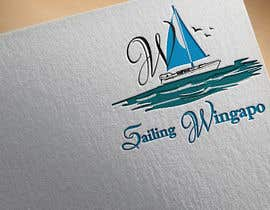 #418 untuk Sailing Wingapo Logo - for a family about to sail around the world oleh roksanaakter1