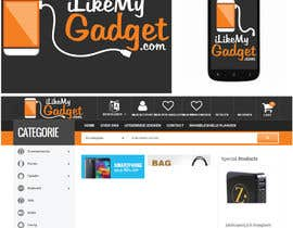 nº 45 pour Design a logo for a webshop called iLikeMyGadget.com par janhaviparab