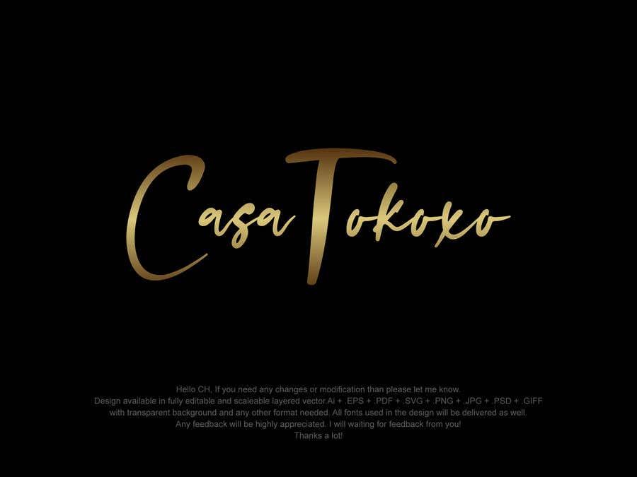 Penyertaan Peraduan #                                        311                                      untuk                                         Logo Casa Tokoxo