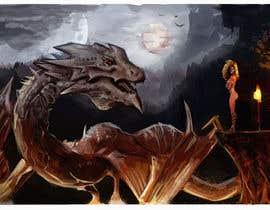 #67 pentru Dragon Scene illustration or Photomanipulation de către alexander213