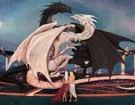 #80 pentru Dragon Scene illustration or Photomanipulation de către radiantARTstudio