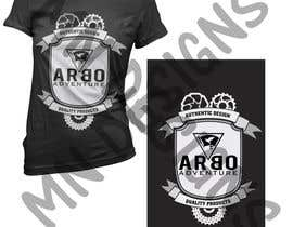 #15 para Design a T-Shirt for ARBO ADVENTURE por elboss412