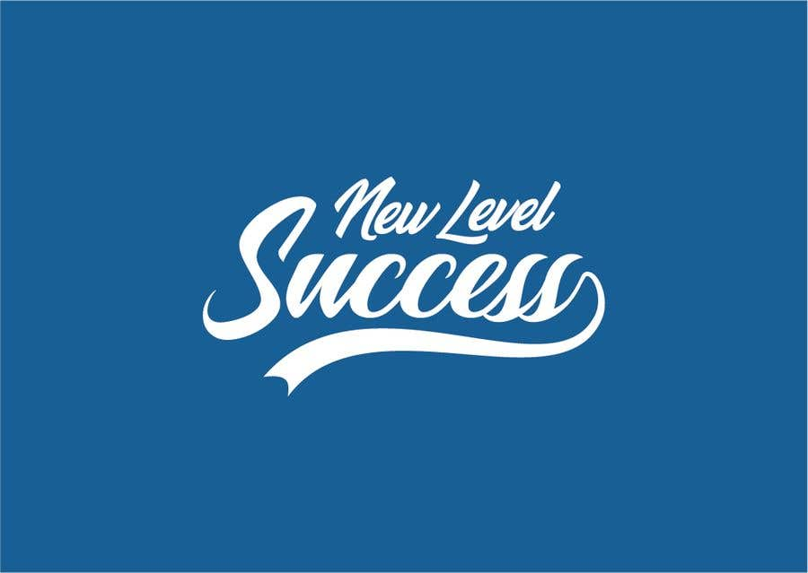"""Penyertaan Peraduan #                                        55                                      untuk                                         I need a logo designed. I want """"New Level Success"""" in the same style as the Dodgers logo that I will be attaching. - 05/04/2021 23:17 EDT"""