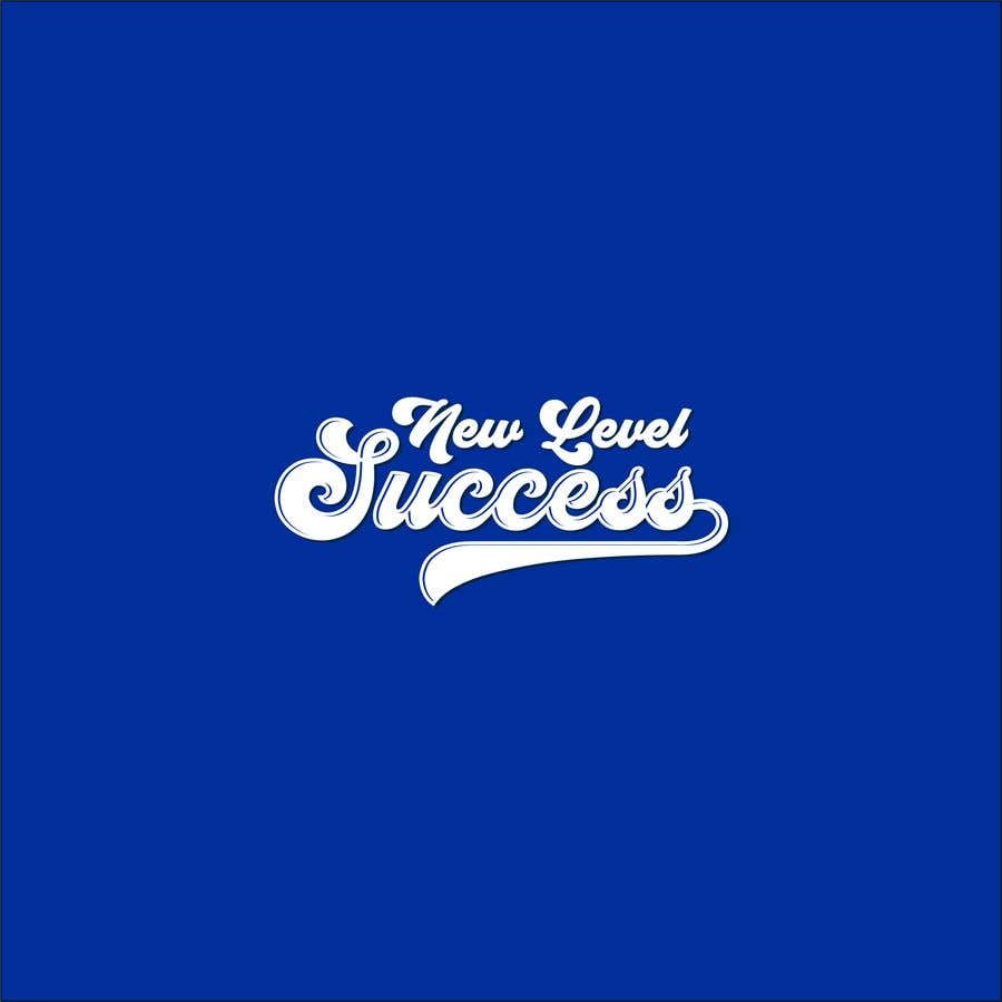 """Penyertaan Peraduan #                                        78                                      untuk                                         I need a logo designed. I want """"New Level Success"""" in the same style as the Dodgers logo that I will be attaching. - 05/04/2021 23:17 EDT"""
