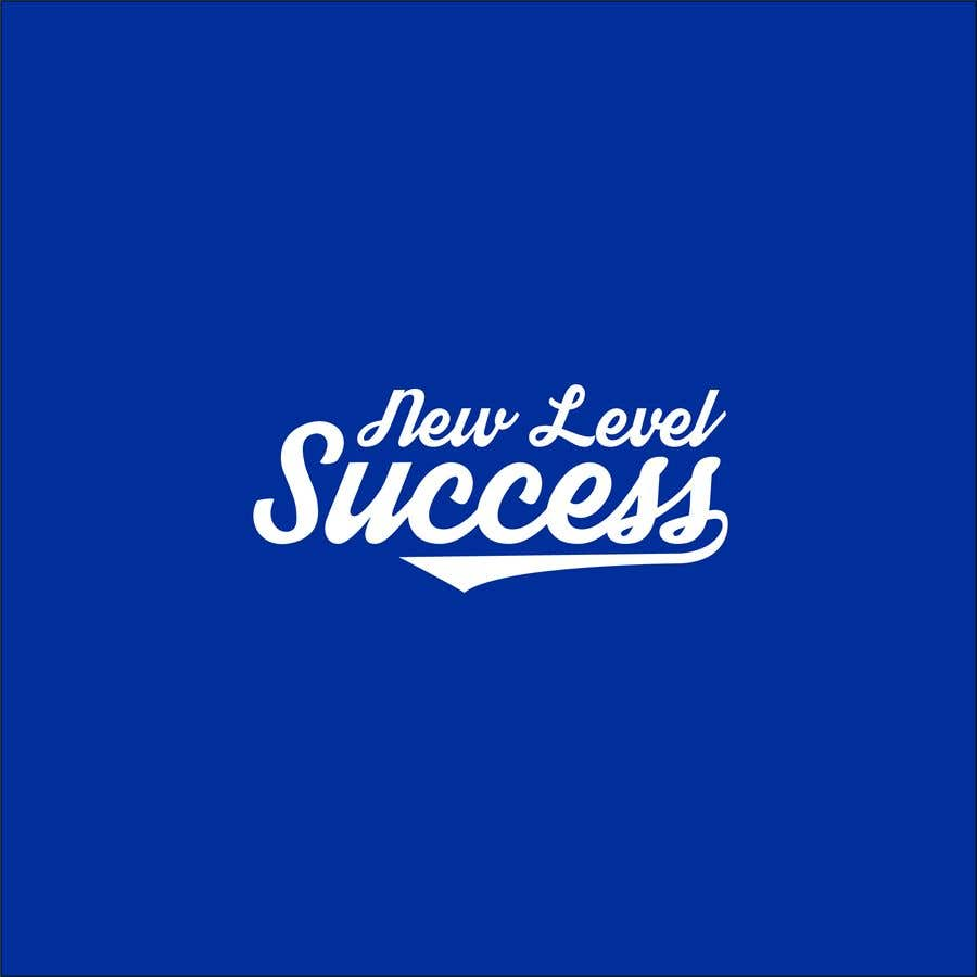 """Penyertaan Peraduan #                                        80                                      untuk                                         I need a logo designed. I want """"New Level Success"""" in the same style as the Dodgers logo that I will be attaching. - 05/04/2021 23:17 EDT"""