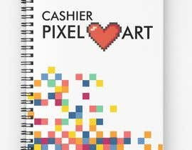 #26 for Pixel Notebook Cover Simple Design - Back&Forth. by Sanjrahimi