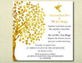 #30 untuk Design some Stationery for a Wedding oleh jvzpix