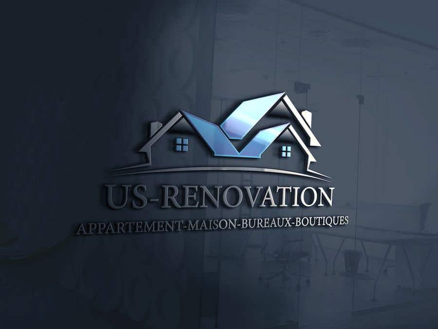 Proposition n°                                        103                                      du concours                                         je besoin crée logo pour ma entreprise de rénovation