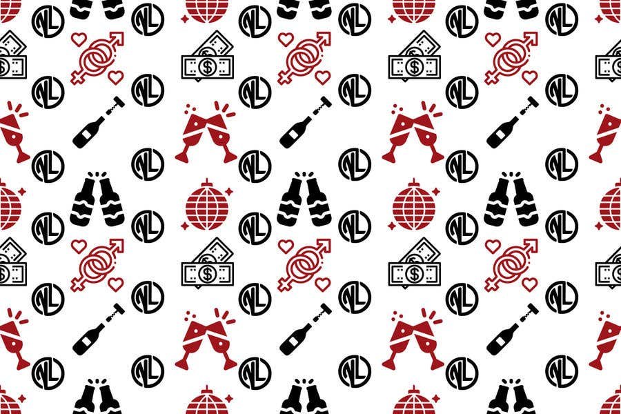 Kilpailutyö #                                        30                                      kilpailussa                                         I looking for a Repeating Pattern with my brand in mind