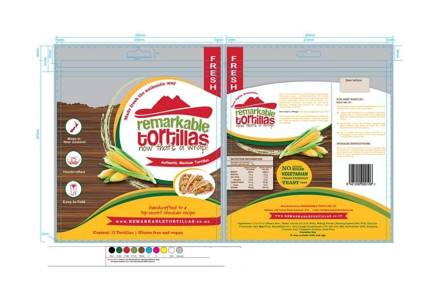 Kilpailutyö #                                        18                                      kilpailussa                                         Extra Soft Corn Tortilla