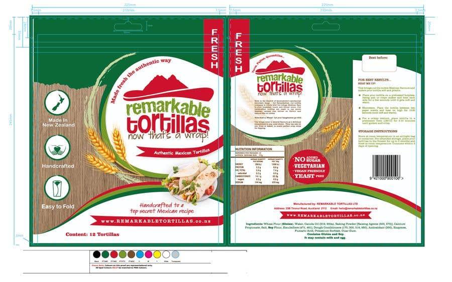 Kilpailutyö #                                        13                                      kilpailussa                                         Extra Soft Corn Tortilla